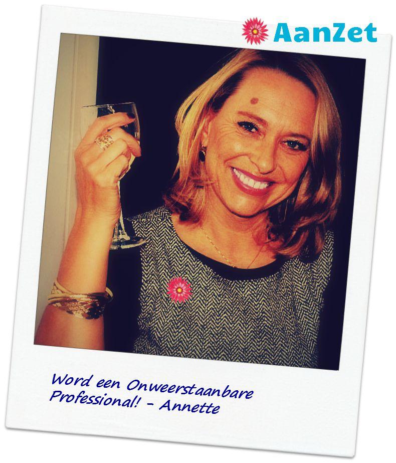 verjaardag Annette Onweerstaanbare Professional!